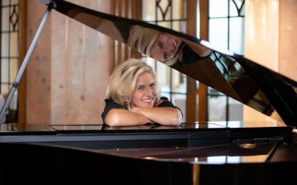 Der Stargast des Abends: Marie Louise Werth mit Band, die normalerweise Konzerthallen wie das KKL Luzern füllt.