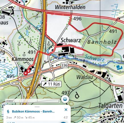 Bubikon / Kämmoos - Bannholz