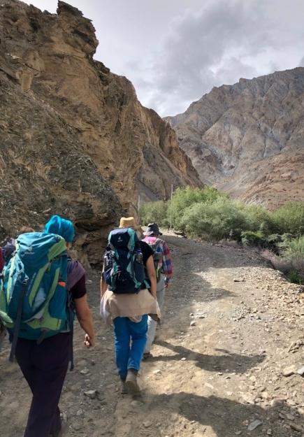 """Ladakh auf die """"harte Tour"""" (selber erwandert)"""