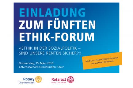 Ethik-Forum 2018
