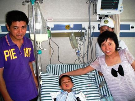 Gift of Life - erstes operiertes Kind